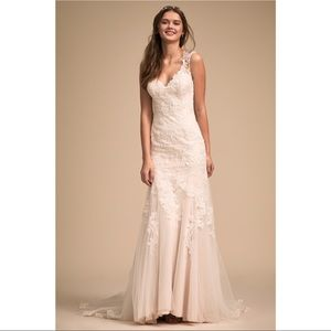 BHLDN Lure of Lace Wedding Gown
